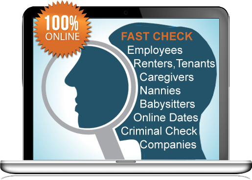 Online background checks service that are instantly fast, and low cost.